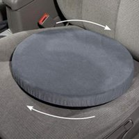Rotation Coussin anti-dérapage Siège d'auto mousse mobilité Chaise aide Coussin renouvelable Siège pivotant Mémoire de voiture en mousse Mat