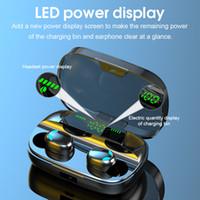 S11B TWS Portable écouteurs sans fil Bluetooth V5.0 Casque audio HiFi Réduction du bruit 3500mAh In-Ear intra-auriculaires étanches avec charge de cas