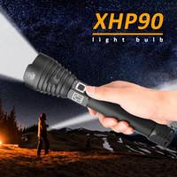 250000 Lumen Xhp90 Most Powerful LED-Taschenlampe USB aufladbare Taschenlampe Xhp70 Handlampe 26650 18650 Blitzlicht Y200727