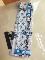 Prezzo all'ingrosso del progettista 100% seta sciarpa classica fascia di modo sciarpa di seta delle donne Pattern, grado superiore Sciarpa di seta dei capelli Fasce Designer rtutfdjd