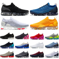 air vapormax tn 2.0 MOC Tasarımcı Erkek Kadın Koşu Ayakkabıları Üçlü Siyah Beyaz Spor Mavi Koyu Sıva Ruhu Volt Trainer Atletik Spor Sneaker Yürüyüş Ayakkabı Boyutu 36-45