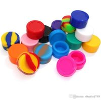 Silicone cylinder Containers For Wax Reusable Silicone Wax Box DAB storage jar 3ml dab tool for smoking accessories