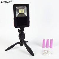 Портативные фонарики Aifeng Camping Light аккумуляторные светодиодные лампы фонарь 18650 прожектор для пешеходных палаток