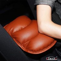 PU Soft Leather Car Center Console Cover Cushion (11x 8.6 inch) Armsteunpad voor auto motorvoertuig