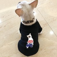 Dog coat Teddy Bichon animal letter printing Pet clothing Le...