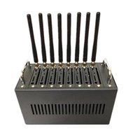 GSM Modem Pool 8 ports M35 Dual Band 850/900/1800/1900 MHz Support SMSMMS