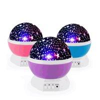 Звездный потолок Ночник проектор, 360 градусы вращающегося луч проектора с 8 Цветом Light Change Для детей Детского