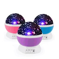 Starry Ceiling Projector Luz Noite, 360 graus de rotação projector de luz com 8 cores de luz Change For Baby Kids