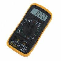 전문 디지털 멀티 미터 AN8205C LCD 디스플레이 디지털 멀티 미터 AC / DC 온도 측정 전류계 전압계 옴 미터 테스터 DBe4 번호