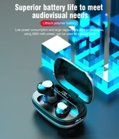 G16 auricular inalámbrico Bluetooth 5.0 Pantalla TWS doble earband digital Modo de carga Almacén impermeable Deportes privada inalámbrica Headset-