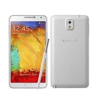 "Original Samsung Galaxy Note 3 N9005 PHONE MOBILE PHONE CORE 5,5 ""8MP 3G WIFI GPS NOTE 3 Vente chaude Téléphone portable rénové"