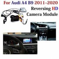 Цифровой адаптер Автомобильный Decoder камера заднего вида для A4 (B9) 2011 ~ 2020 Оригинальный экран MMI Система парковки Камера заднего вида CWkX #