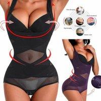 Women Lady Push Up Bra briefer bodysuit Shaper Tummy Slimmer Corset Vest