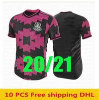 S-4XL-Player Version 20 21 Mexiko Fußball-Trikots Away H.Lozano dos Santos Chicharito 2020 2021 Nationalmannschaft Sport Fußball Uniform Hemden