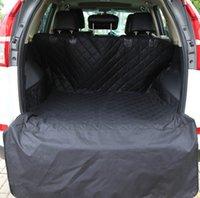 미국 주식 자동차 애완 동물 좌석은 애완 동물과 함께 여행하는 데 필요한 통기성 트렁크를 커버 휴대용 개 고양이 지퍼 탈착식