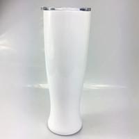 30oz التسامي الفولاذ المقاوم للصدأ زجاجة الماء شكل زهرة بهلوان فراغ معزول كوب ماء الرياضة في الهواء الطلق السفر كؤوس القهوة الأقداح A10