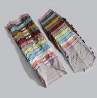 Çocuklar Tasarımcı Giyim Erkek Giyim Setleri Bebek Kısa Kollu Katı Tulum Pantolon Takım Elbise Yaz Moda Tulumlar Pantolon Kıyafetler LSK516
