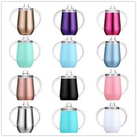 Sippy cup 10oz 12 colors stainless steel double wall vacuum ...