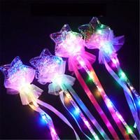 Светодиодные перчатки Butterfly Glowstick Light Stick Concert Concept Sticks Красочные пластиковые вспышки свечения Greate Electronic Magic палочкой рождественские игрушки