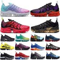 2020 Nueva TN Plus oro metálico en colores pastel zapatos para correr Voltaje púrpura violeta Hyper VOLTIOS Lima Limón mujeres para hombre entrenadores deportivos zapatillas de deporte de Estados Unidos 13