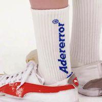 Blanco Azul Negro A-carta en stock 20ss Calcetines hombres de las mujeres unisex 100% de algodón calcetines de baloncesto