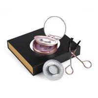 2pairs Manyetik Kirpikleri Seti ile Aplikatör Doğal 3D Vizon Yanlış Eyelashes aşınma kolay Araçları Makyaj