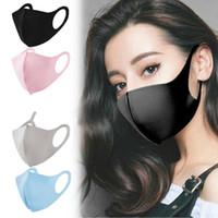30pcs nero / rosa lavabile riutilizzabile kpop viso bocca maschera 3d panno polvere di sicurezza moda designer donne uomini bts bocca maschere maschere sfuse