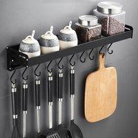 Крючки Rails 12шт висит мини пластические посуды одежды для одежды полотенце ложка вешалки для кухни ванная комната