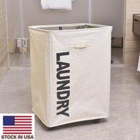Портативная одиночная решетка сетчатая сетка для хранения рта корзина для белья с колесной спальней ванная комната грязная коробка одежды