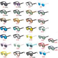 30 Farben Klassische Damen Herren Sonnenbrillen Outdoor Sport Driving Radfahren Sonnenbrillen Dazzle Farbe Sonnenbrillen schnelles Verschiffen Bester Verkauf