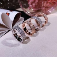 Celebrity Hot Style Couple Ring Wide Version Narrow Version ...