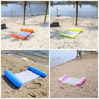 التضخم العائمة سرير دواسة بركة سباحة في تعويم الصيف الطوافة شاطئ السباحة لوازم سطح المياه كرسي الساخن بيع 12gd D2