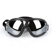 قابل للتعديل الكلب نظارات شمسية المضادة للأشعة فوق البنفسجية نظارات شمسية سنو والدليل على العين ملابس للماء لمتوسطة إلى كبيرة JK2007XB الكلب