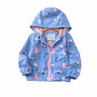 Bahar 2020 Çocuk Coat Kapşonlu Kız Ceket Işık Ceketler İçin Çocuk Yağmur Ceket sg2y #
