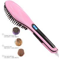 Le spazzole per capelli elettriche emettono ioni negativi, determinare il pettine del massaggiatore con un controllo preciso della temperatura