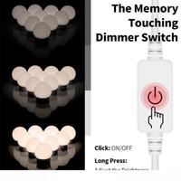 LED 12V Makeup Mirror Light Bulb Hollywood Vanity Lights Stepless Dimmable Wall Lamp 6 10 14Bulbs Kit for Dressing Table LED010