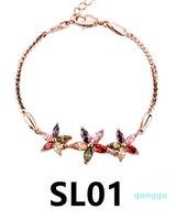 braccialetto di fascino chritmas punk d'epoca lusso- SL01-SL19 donne