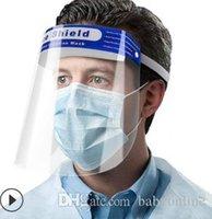 Seguridad rápida de envío de escudo facial transparente para toda la cara cubierta protectora de la película Herramienta anti-vaho prima PET material protector de cara FY8017