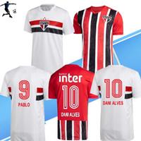 Neue 2020 2021 FC Sao Paulo Soccer Jersey 20 21 Libertadores Football Hemd Pablo Nene Helinho Arboleda Hernanes Sao Paulo Camisa de Futebol