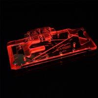 Blocco di raffreddamento dell'acqua della scheda grafica per la scheda di grafica per colorato GeForce RTX 2080Ti Raffreddamento liquido avanzato