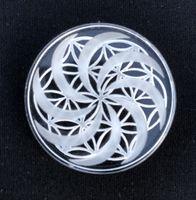 Quarzo Canale Caps OD OD 30 millimetri 40 millimetri 50 millimetri modello di progettazione quarzo Carb protezione del fiore per la Flat Top Quarzo Banger Nails