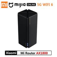 Xiaomi Router AX1800 Qualcomm Five-Core WiFi6 2,4G 5,0 Gigabit Full Gigabit 5G Dual-Frequency Home Wall-penetrando Rei Versão CN