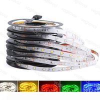 Luce di striscia SMD2835 3014 5050 DC12V 300LED Round 2 fili Fiexble Luce LED Ribbon non eccellente impermeabile LED luminoso illumina DHL
