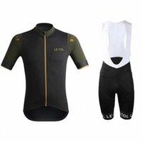 LE COL été manches courtes hommes cyclisme ensembles jersey conjuntos Ciclismo Cuissard mountainbike Roadbike vêtements en tissu à séchage rapide Lb45 #