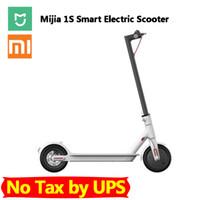 Xiaomi Mijia 1S Смарт электрический самокат Складная Легкий скейтборд Пробег 25 км APP С запасного колеса нет налога на CN Версия