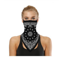 Outdoor Face Cover Cycling Mask Fashion Printed Bib Scarves ...
