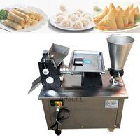 Cena fabryczna 2020 Gorąca Sprzedaż Ze Stali Nierdzewnej Automatyczne Gyoza Sprężyna Rolka Empanada Dumpling Maszyna Maszyna Samosa Producent