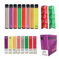 550mAh Barato de batería Barra de bolígrafo más Vape Pen Kit Dispositivo Embalaje Embalaje OEM Logo Caja Personalizada 3.2ml Cartucho de Cartucho Cigarrillo Electrónico Desechable