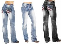 E-Baihui 2020 European and American Hot Sale Ladies Jeans Casual Solid Color Jeans Slim Slim Large Size Denim Trousers 8066