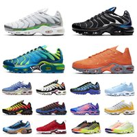 vapor nike air vapormax air max airmax tn plus 2019 outdoor running shoes men women trainer triple white Metallic black Breathable mens fashion sports sneakers